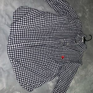Woman button up shirt